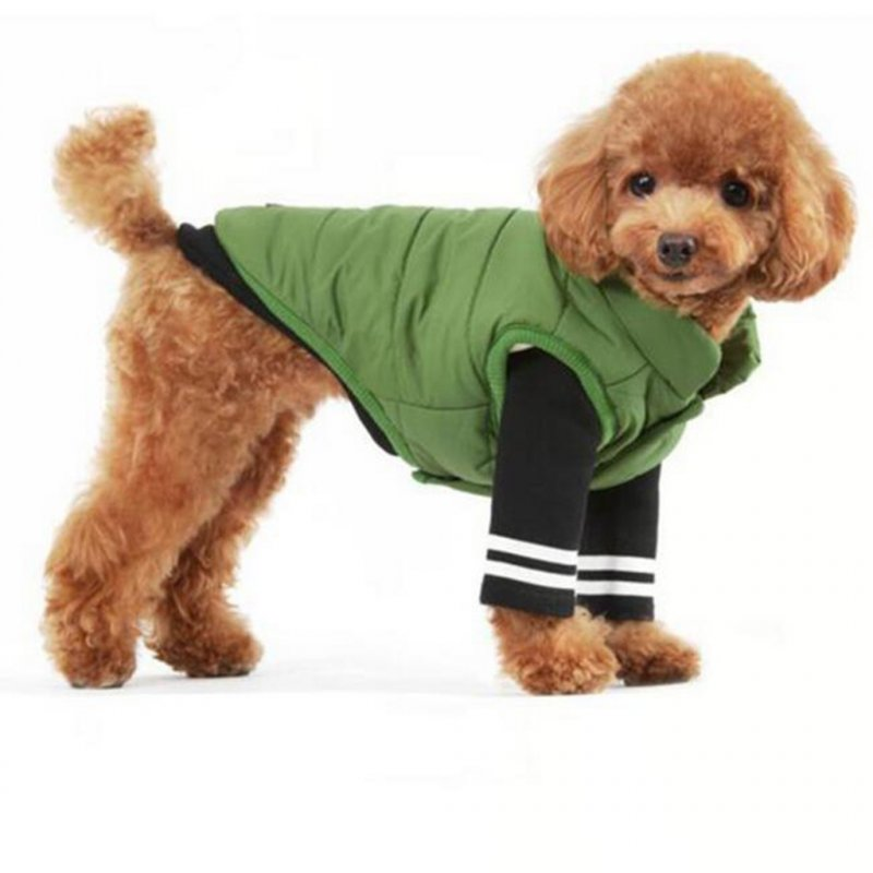 Fashion Winter Warm Camouflage Puppy Pet Dog  Vest Jacket Coat Pets Clothing M