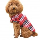 Plaid Printed Shirt Pet Puppy Clothes