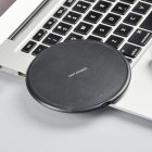 Fast Wireless Charger for Samsung Galaxy S9 S9 S8 S7 Note 9 S7 Edge USB Qi Charging Pad for iPhone XS Max XR X 8 Plus black
