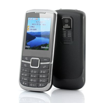 Feature Mobile Phone w/ Dual SIM + Bluetooth