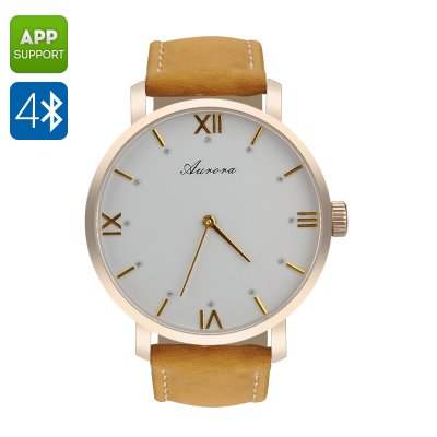 Fii Aurora Smart Watch (Gold)