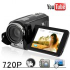 Finally  a digital camcorder for the social media generation  This videocamera uploads direct to Youtube