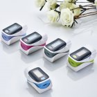 Finger Clip Oximeter Measuring Heartbeat Pulse Heart Rate Monitoring Blood Oxygen Content Random Color