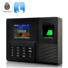 Fingerprint Time Clock and Recorder with 6 different identification modes to be used as a business clocking in out system for employees