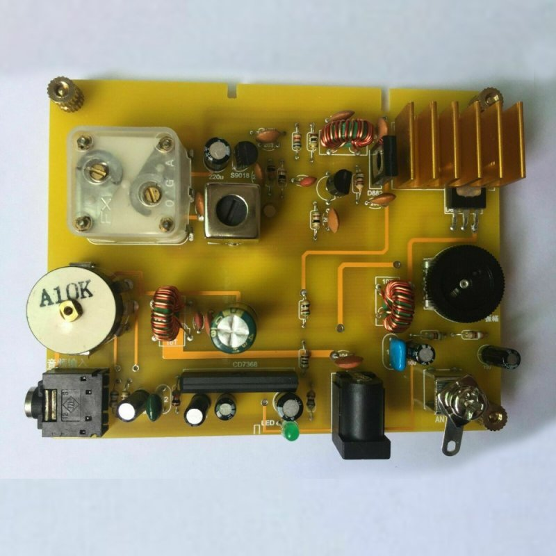 Finished Radio Board Electronic Components Micro Power Medium Wave Transmitter Ore RF 530-1600khz yellow