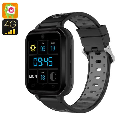 Finow Q1 Pro Android 4G Smart Watch (Grey)