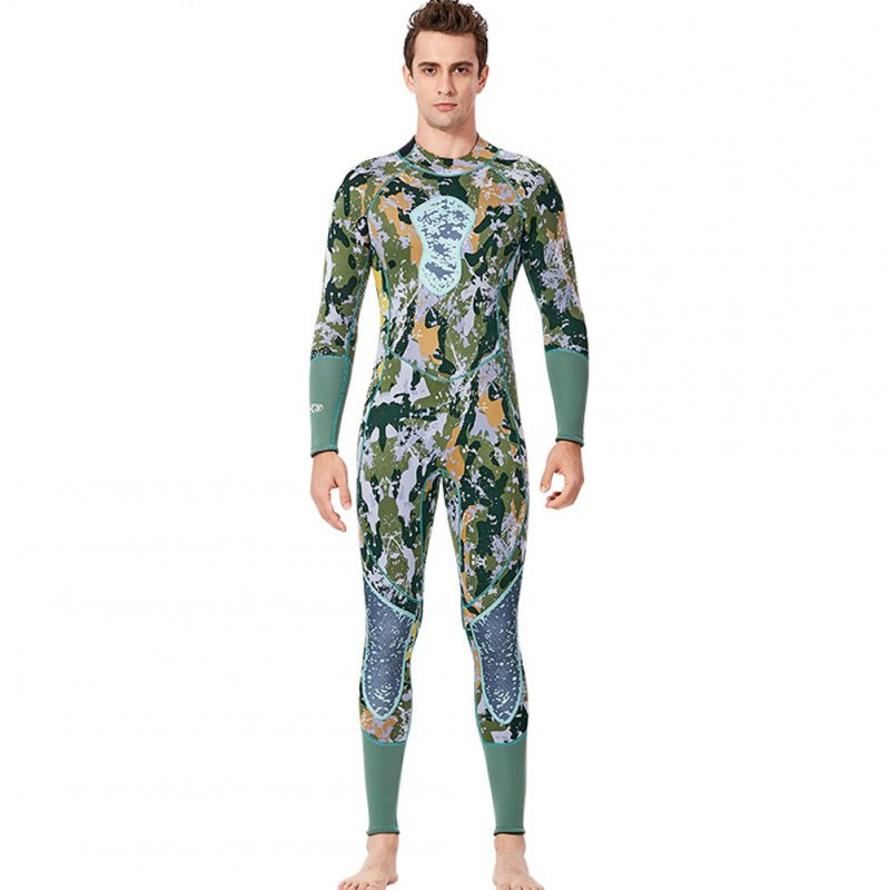 Fish Hunting  Suit 3MM Siamese Camouflage Female Warm Surfing Swimwear
