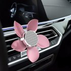 Car Perfume Outlet Air Freshener Petals Aromatherapy Car-styling Interior Car Air Vent Car Accessories Pink