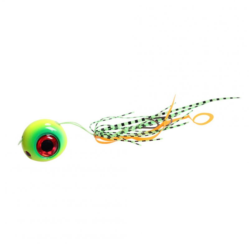 Fishing Hook With Fishing Bait Lead Tip Fishing Hook Yellow-green_120G