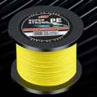 Fishing Line 1000 Meters PE Braided Fishing Line Fishing Net Kite Line Yellow