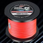 Fishing Line 1000 Meters PE Braided Fishing Line Fishing Net Kite Line Red