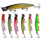 Fishing Lure 11cm 13.2g Floating Fishing Bait With Hook Sea Fishing Bait random_6pcs mixed