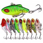 Fishing Lure 3.5cm 5g Mini Sinking Fishing Bait With Hook Plasitc Fishing Bait 9pcs mixed