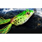 Fishing Lure Artificial Silicone Bait Frog Lure with Hook Soft Fishing Frog Lures Large size (5.5cm)
