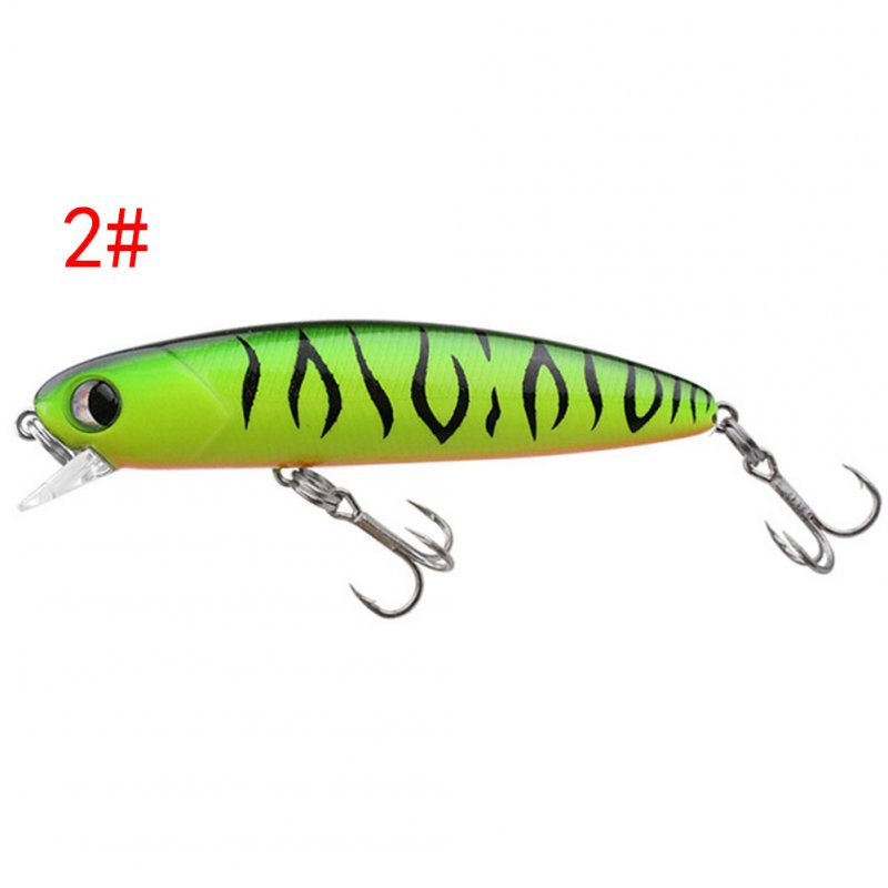 Fishing Lure Simulation Fake Bait Hook Built-in Lead Block Long-range Fishing Bait Color 2