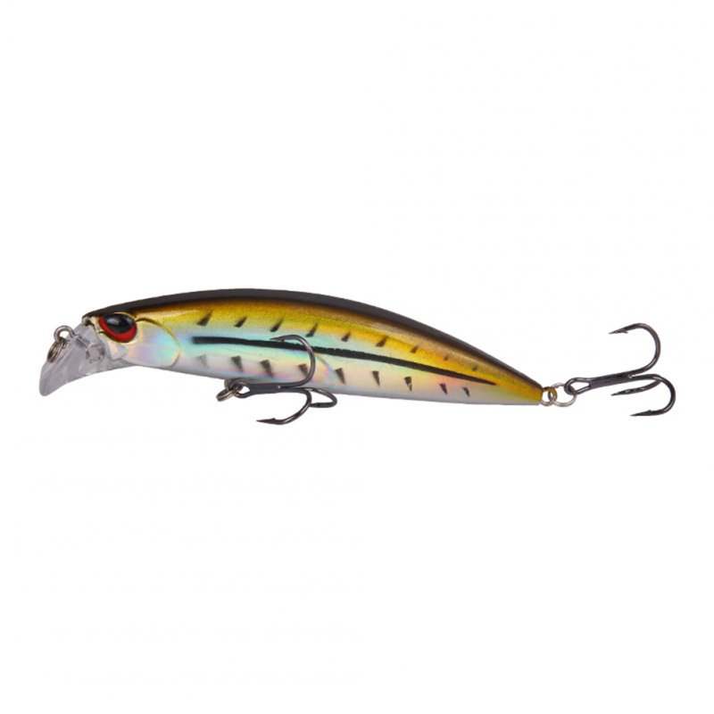 Fishing Lure With Fishing Treble Hooks 30g/9.5cm Sinker Fishing Bait Bionic Fishing Tackle Yellow bar