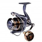 Fishing Reel Full Metal Wire Cup Sea Fishing Long Cast Spinning Fishing Reel Model 6000
