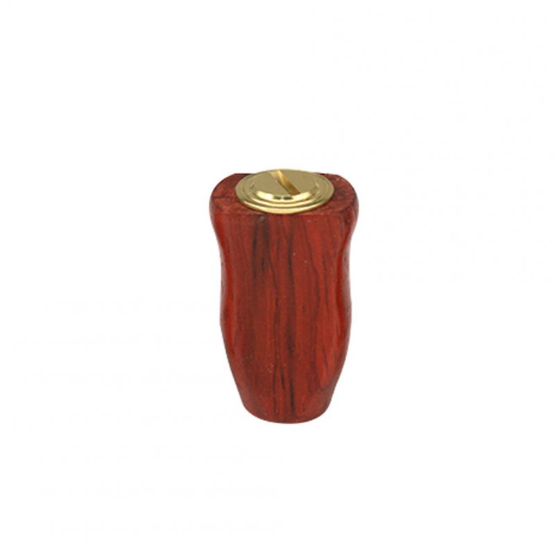 Fishing Reel Handle Wood Grip Knob Modification For S / D Bait Casting Reel Rocker Arm Modified Knob Golden red(Red rosewood)