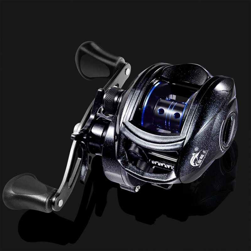 Fishing Wheel Whole-new 18-axis Metal Low-Profile Reel for Fishing High Speed Ratio 8.1:1 8kg Fishing Weight Left hand type