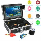 Fishing underwater camera set with fish finder camera  9 inch LCD screen  battery pack and carrying case   Fishing just became a whole lot easier