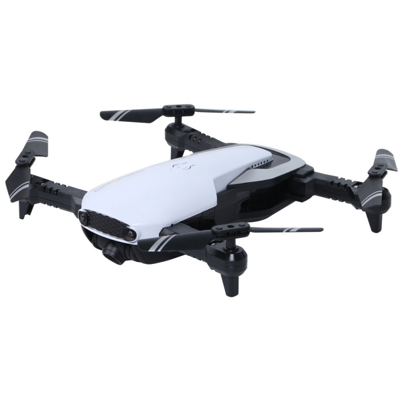 Fixd Aircraft Drone Foldable RC drone 2.4G 4CH 360 Degree Flip 0.3MP/2.0MP HD Camera RC Quadcopter VS E511 E511s Mavic Air E58 0.3MP 1 battery white