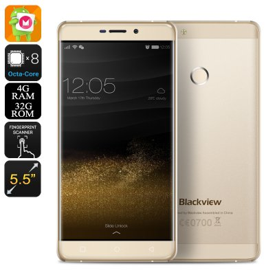Blackview R7 Smartphone (Gold)
