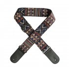 Flanger Vintage National Style Acoustic Electric Guitar Strap Jacquard Embroidery Strap F S3