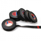 Flannel Tape High  Temperature Waterproof Black Tape For Vehicle Internal Winding Harnesses 25MM*15m