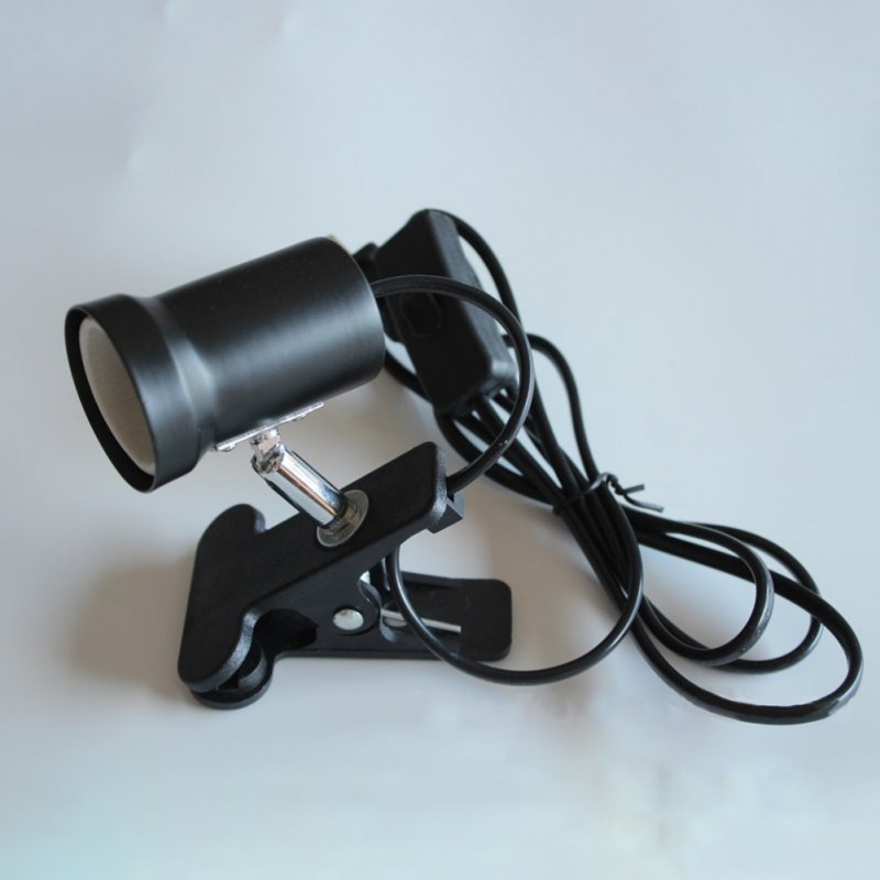 Flexible Aquarium Light Fish Tank Clip Lamp 360 Degree Adjustable Flexible Clip Lamp UK plug