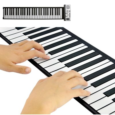 Flexible Roll Up Synthesizer Keyboard Piano