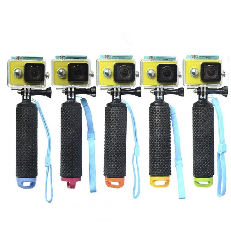Float Stick for GoPro Detachable Non-slip handheld Float Stick Green