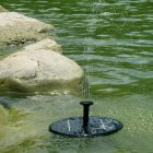 Floating Solar Landscape Fountain JT-160-F DC Water Pump for Decoration JT-160F