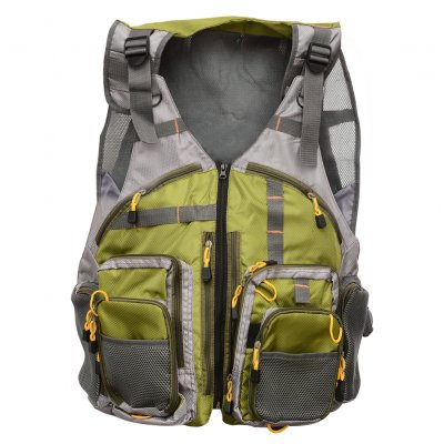 Fishing Mesh Vest Adjustable Size for Men Wom