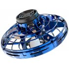 FlyNova Finger Flying Spinner Returning Gyro Kid Gift Outdoor Gaming Saucer Disc blue