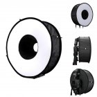 Foldable 46cm Ring Softbox Macro Ring Flash for Canon Nikon Sony