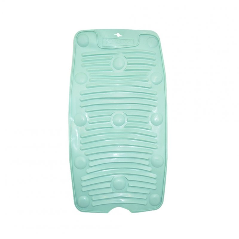 Foldable Drain Non-slip Washboard with Suction Cup for Home Kitchen Accessories green