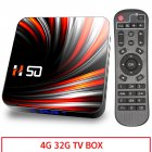 For Android Tv  Box Android 10.0 4k 4gb 32gb 64gb Media Player 3d Video Smart Tv Box 4+32G_US plug