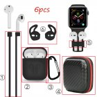 For Apple AirPods Accessories Case Kits AirPod Earphone Charging Protector Cover black