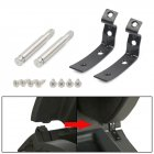 For Audi A4 S4 RS4 B6 B7 8E Glove Box Lid Hinge Snapped Repair Fix Kit Brackets