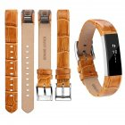 For Fitbit Alta Watch Band Wrist Strap Color Intelligent Heart Rate Replacement Watch Band Bamboo brown