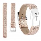 For Fitbit Alta Watch Band Wrist Strap Color Intelligent Heart Rate Replacement Watch Band Rose gold