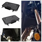For HONDA CB400X/F CB500X/F Radiator Grille Guard Cover Protector black