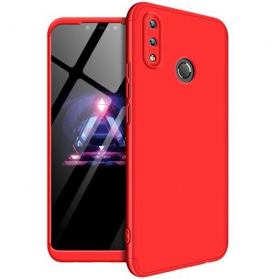 For HUAWEI NOVA 3I/P smart Plus 3 in 1 360 Degree Non-slip Shockproof Full  Protective Case red