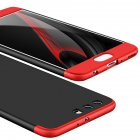 For HUAWEI P10 3 in 1 360 Degree Non-slip Shockproof Full Protective Case Red black red