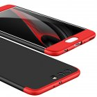 For HUAWEI P10 Plus Ultra Slim Back Cover Non-slip Shockproof 360 Degree Full Protective Case Red black red
