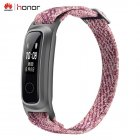 For Huawei Honor Band 5 Basketball Edition w/ Metal Strap Smart Wristband AMOLED Watch Heart Rate Fitness Sleep Tracker Sport Pink