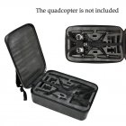 For Hubsan H501S RC Drone Portable Carry Case Backpack Hard Shell Storage Box  High end remote control storage bag