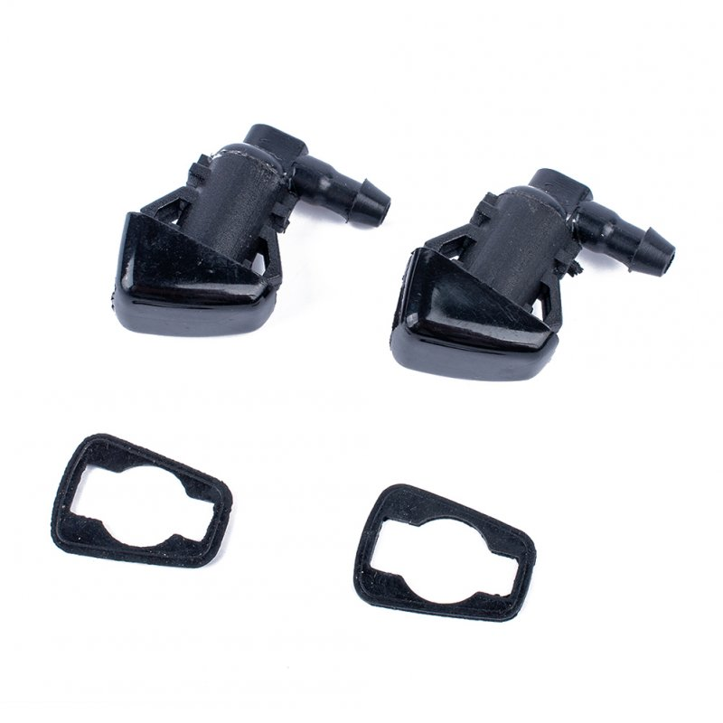 For Jeep Grand Cherokee Windshield Wiper Washer Spray Nozzle OE:55079049AA/68260443AA black