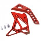 For Kawasaki Z1000/SX 14-15-16-17 Motorcycle Accessories CNC Aluminum Fuel Injection Cover red