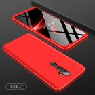 For OPPO A5 2020 A11X Cellphone Cover Hard PC Phone Case Bumper Protective Smartphone Shell red